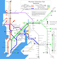 Mumbai Map File Mumbai Suburban Rail Map Svg Wikimedia Commons