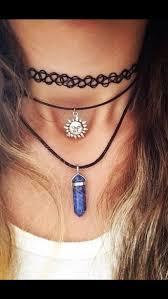 black neck choker necklace images Jewels sun necklace 90s style necklace necklace collar neck jpg