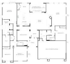 one story house floor plans plans patio home floor plans