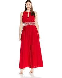 r m richards plus size dresses savings on r m richards s plus size beaded waist halter
