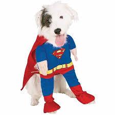 superman deluxe dog costume pet halloween costume walmart com