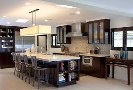 Contemporary Kitchen Cabinets Custom Contemporary Kitchen Cabinets Alder Wood Java Finish Shaker