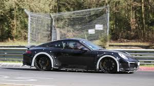 Porsche 911 1st Generation - next gen porsche 911 chassis testing mule arrives at the u0027ring
