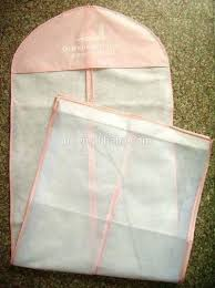 wedding dress garment bag large white breathable cloth cover bridal wedding gown