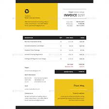 contractor invoices invoice template by bddesignhub graphicriver