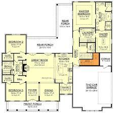 farmhouse plan mid size exclusive modern farmhouse plan 51766hz architectural