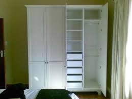 Clothes Wardrobe Armoire Best 25 Freestanding Closet Ideas On Pinterest Diy Clothes