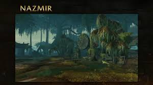 the old gods references in battle for azeroth at blizzcon 2017