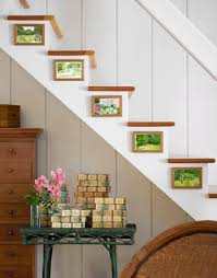 treppe dekorieren ideen für wandgestaltung coole wanddeko selber machen freshouse