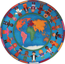 Cheap Kid Rugs Around The World Rug World Map Classroom Carpet