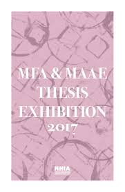 Thesis Catalogue Nhia 2017 Mfa And Maae Thesis Exhibition Catalog By New Hampshire