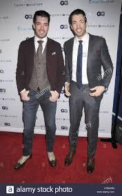drew scott and jonathan scott celebrity arrivals for the gq men