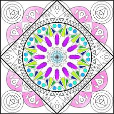 the mandala coloring page circle of life is an coloring page
