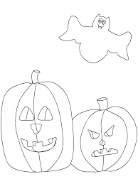 coloring page of a bat 195 pumpkin coloring pages for kids