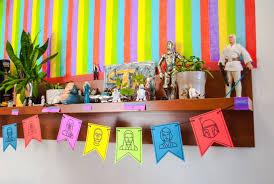 Star Wars Birthday Decorations Kid Made Star Wars Party Decorations For A Star Wars Birthday