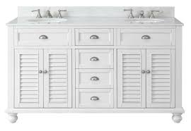 White Double Vanity 60 Cottage Look Glennville 60 Inch Vanity Gd 21333 Contemporary