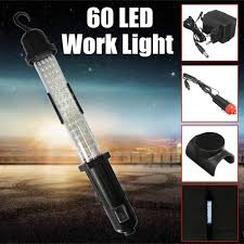 60 led rechargeable cordless work light inspection emergency lamp