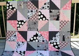 halloween quilt pink polka dot creations