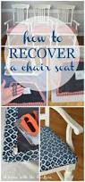 Kitchen Chair Seat Replacement Best 25 Recover Dining Chairs Ideas On Pinterest Diy Furniture