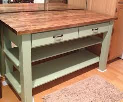 Pallet Kitchen Island by Ana White Kitchen Island Diy Projects