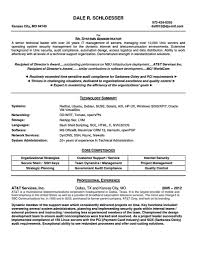 Admin Resume Template Unix Sys Administration Sample Resume 4 Sample System Admin Cover