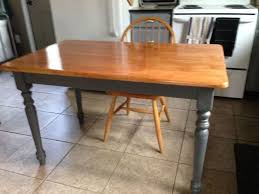 Painted Kitchen Tables And Chairs by Cabin Kitchen Table U0026 Chairs Refinish Hometalk