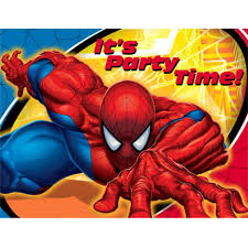 spider man party supplies slinging up an amazing spider man theme