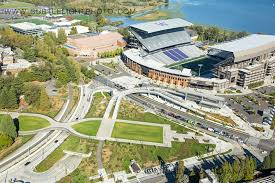 parking at husky stadium light rail subtle light photography blog new aerial photos of the university