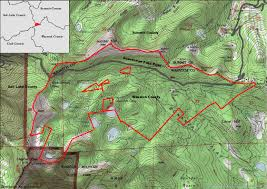 Park City Utah Trail Map by Help Save Bonanza Flats