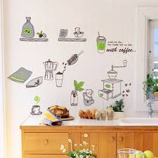 Buy now New DIY Kitchen Background Decorative Wall Stickers Oil