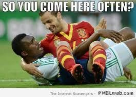 Meme Football - 17 you come here often football meme pmslweb