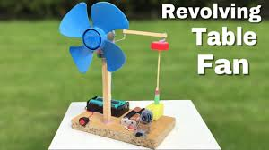 how to build an easy table how to make a mini revolving table fan at home easy to build