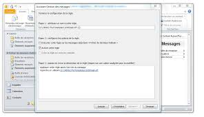 afficher outlook sur le bureau outlook comment configurer un message d absence clubic