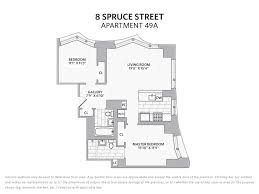 8 spruce street floor plans 8 spruce street new york ny 10038 off market nystatemls listing