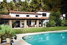 built in the 1930s the spanish style hacienda nestled deep in