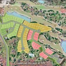 Sawgrass Map Champions Village At Tpc Murrells Inlet Custom Home Builder Port