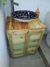 How To Make A Bathroom Vanity 25 Fantastic Diy Bathroom Pallet Projetcs Tired Cozy And Pallets