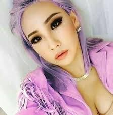 hair cl who rocks purple hair kpop edition updated