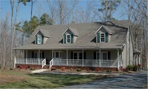 Colonial Farmhouse With Wrap Around Porch by Homes With Wrap Around Porches Country Style Round Designs