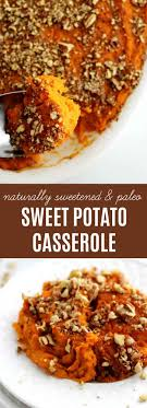 healthy sweet potato casserole recipe paleo