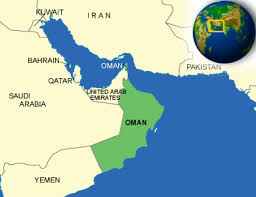 Map Of Oman Oman Facts Culture Recipes Language Government Eating
