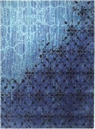 Blue Modern Rug Contemporary Blue Rugs Techieblogie Info