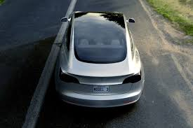 tesla model 3 interi tesla model 3 report claims batteries are being manually