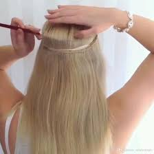 glue in extensions cheap flip in human hair indian extensions halo human hair