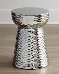 silver garden stool foter