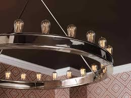 Light Bulb Chandeliers Chandeliers Design Magnificent Edison Bulb Chandelier Dining