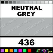 neutral grey designers gouache paints 436 neutral grey paint