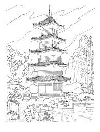free coloring page coloring great wall of china coloring