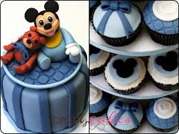 baby mickey baby shower baby mickey cupcake tower baby mickey baby shower cake c flickr