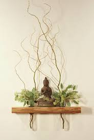 best 25 yoga rooms ideas on pinterest home yoga room yoga floating shelf altar vases ming tang feng shui side table